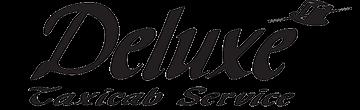 Deluxe Taxicab Service logo