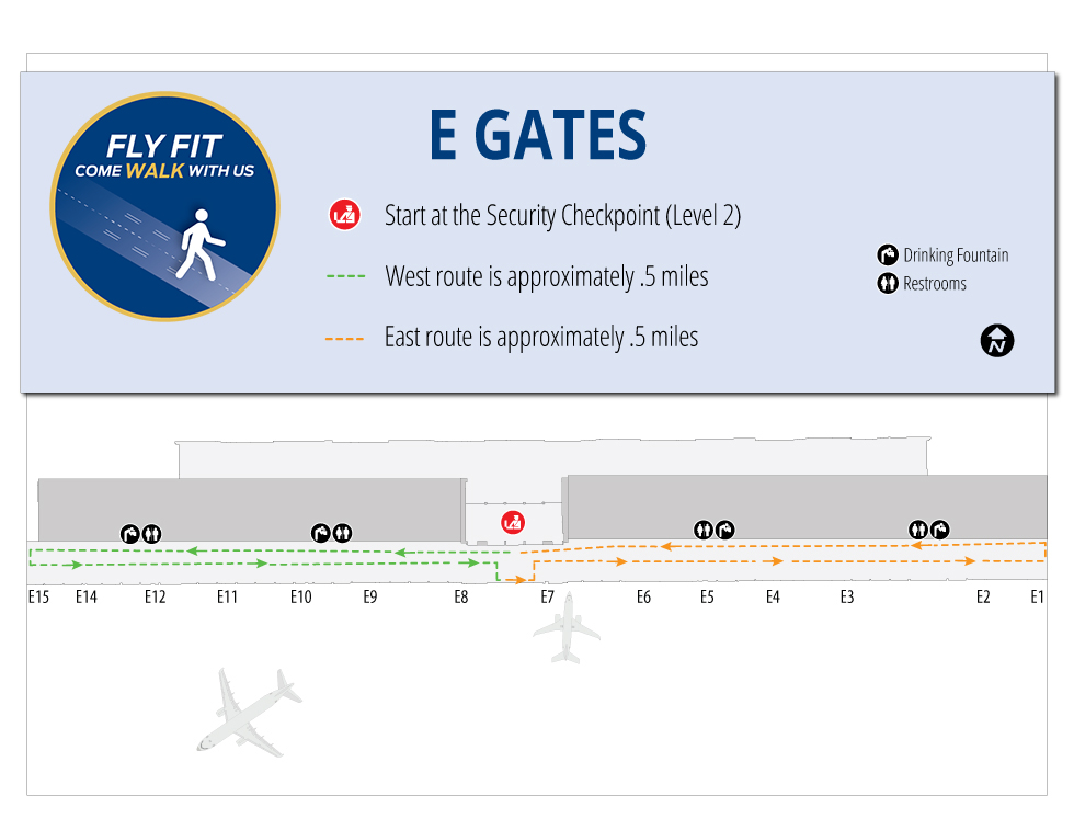 Fly Fit at E Gates