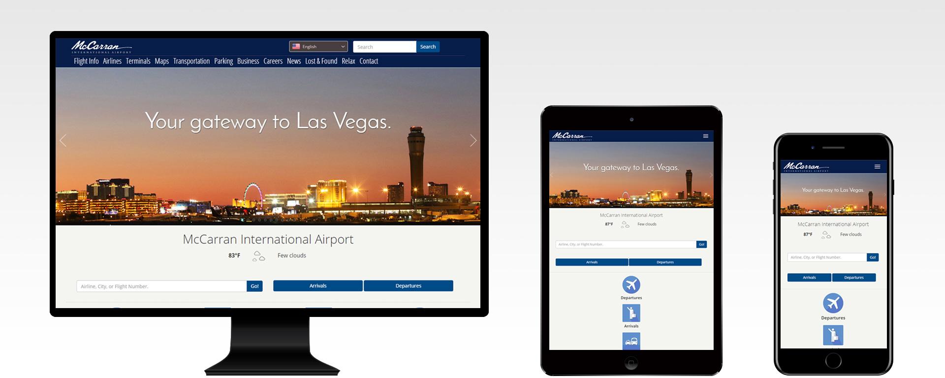 'McCarran International Airport' from the web at 'https://www.mccarran.com/FSWeb/assets/LAS/images/images_jssor/LAS_home_website_1920x768.jpg'