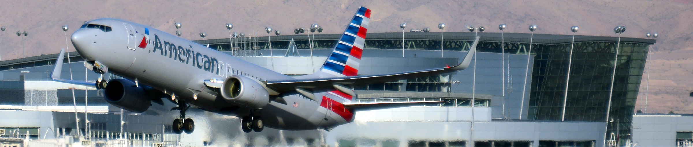 American Airlines at McCarran