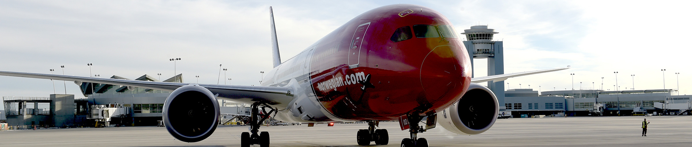 Norwegian Airlines at McCarran