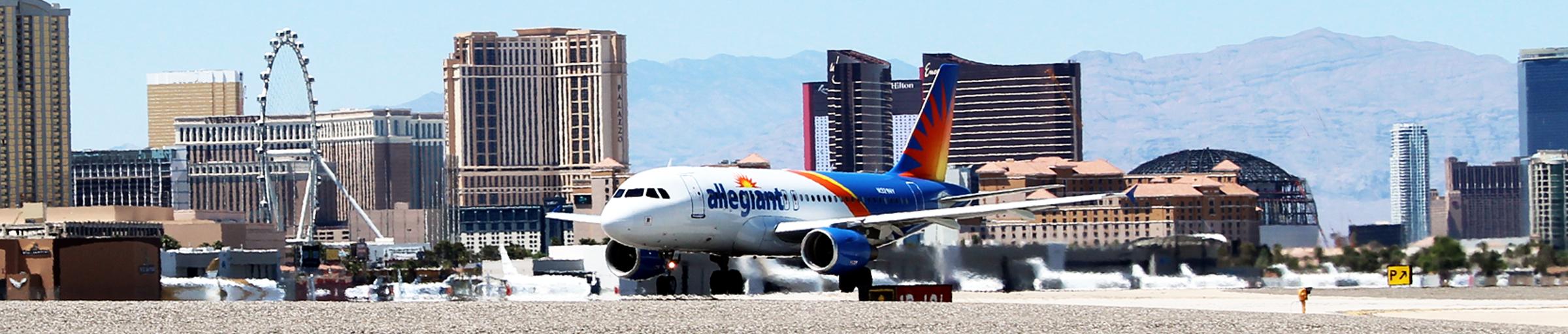 Allegiant at McCarran International Airport