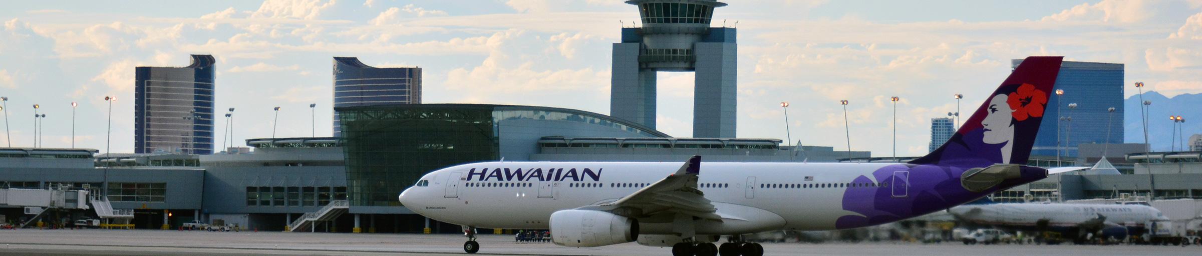 Hawaiian Airlines at McCarran