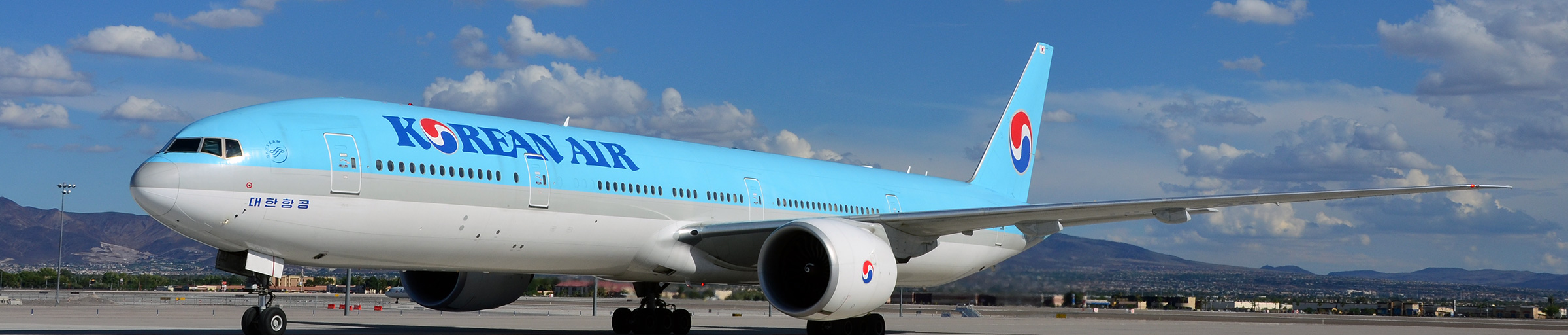 Korean Air at McCarran