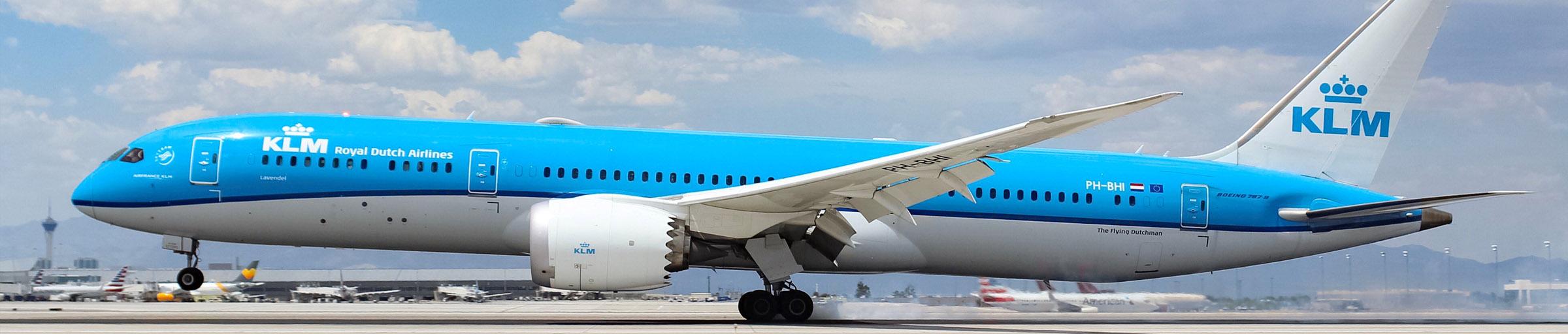 KLM at McCarran