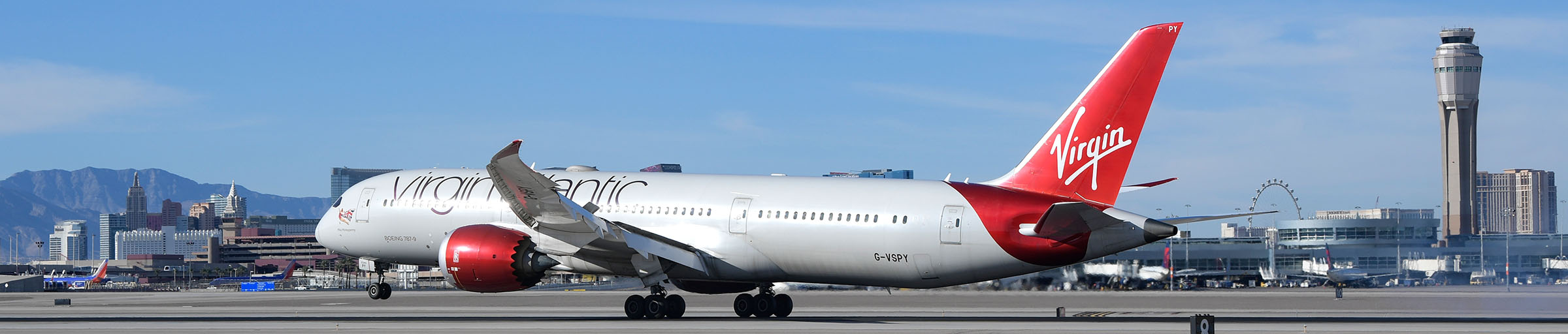 Virgin Atlantic at McCarran