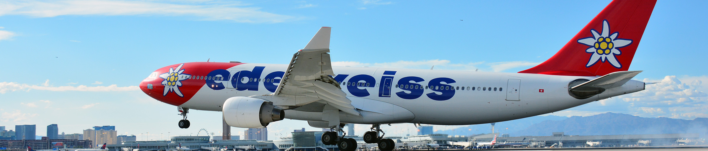 Edelweiss Air at McCarran