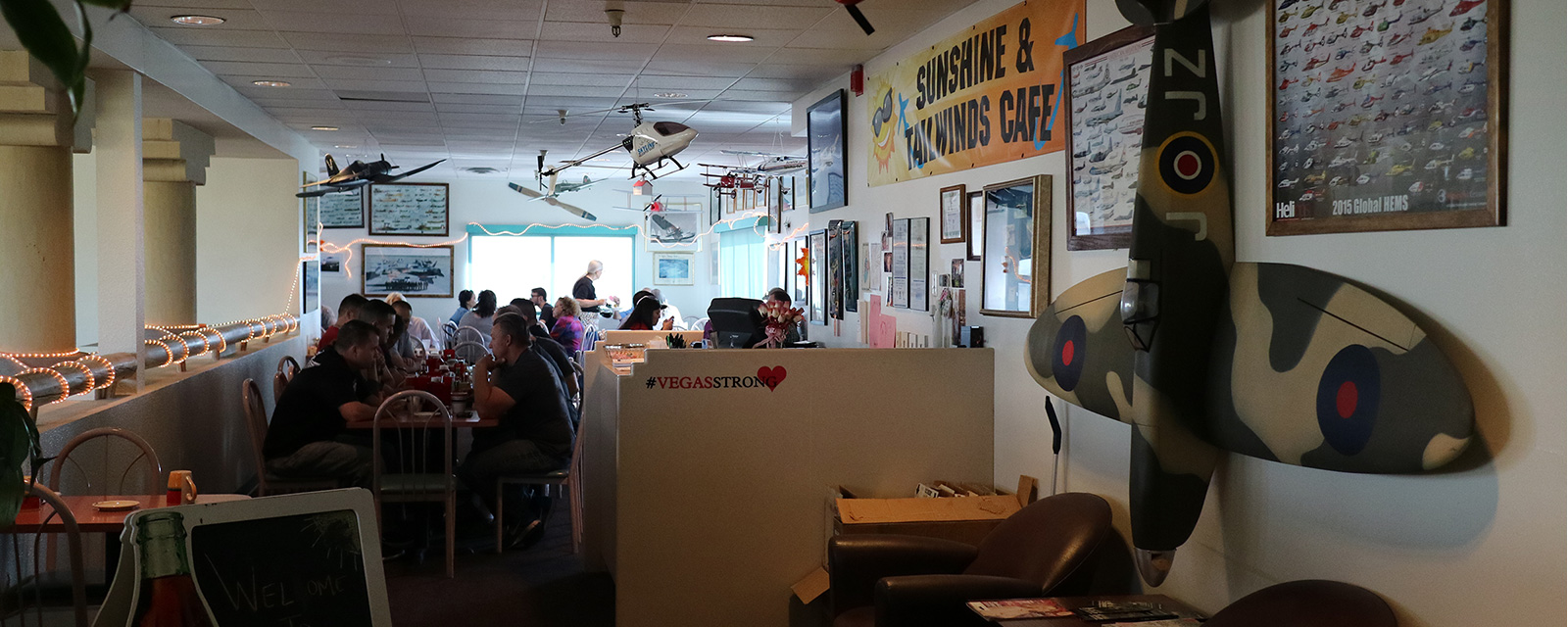 Sunshine And Tailwinds Cafe Will Remain Open During The Remodel Of North Las Vegas Airport Terminal