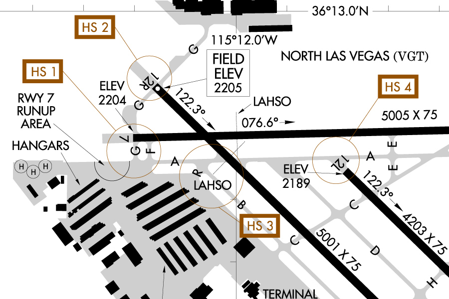 Las Airport Diagram | Pilot Information At North Las Vegas Airport
